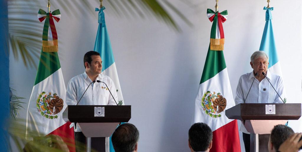 México y Guatemala impulsarán programa de desarrollo para reducir migración