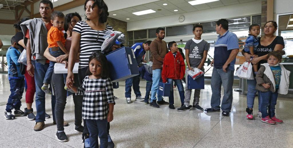 Inmigración a lo largo de la frontera con México