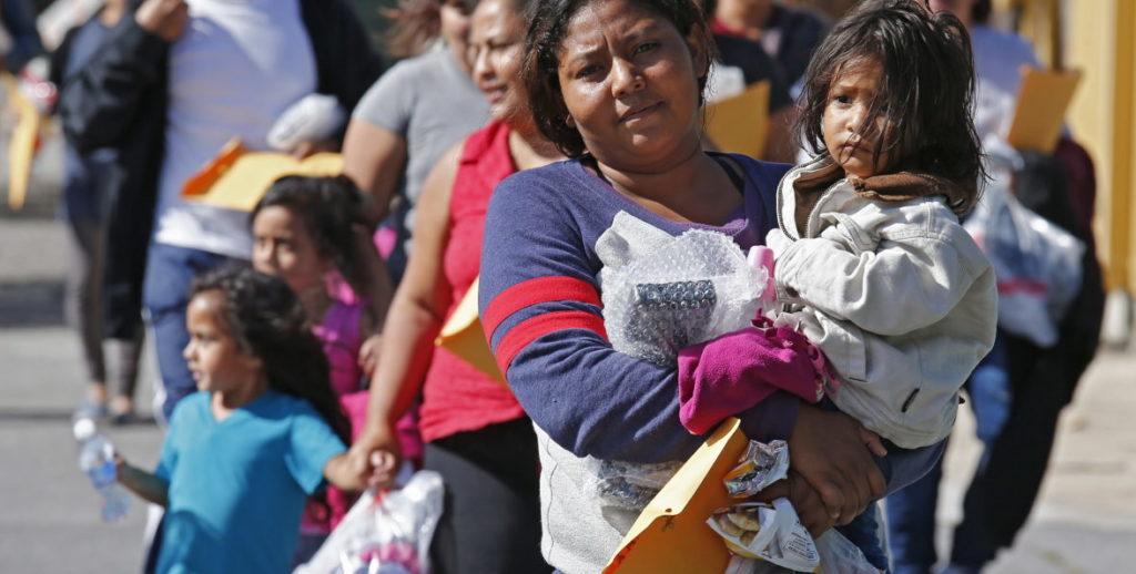 Inmigración a lo largo de la frontera de Texas