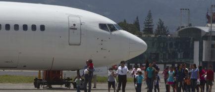 GUATEMALA RECIBE A NIÑOS DEPORTADOS DE EE.UU.