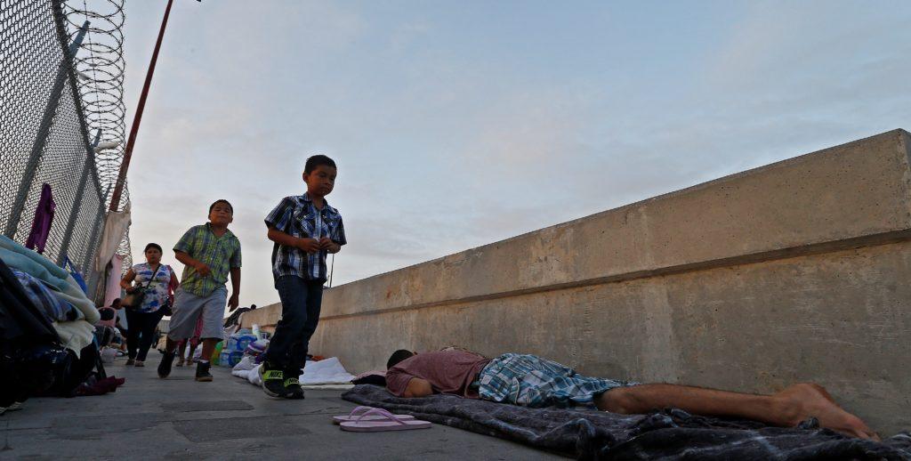 Inmigración en la frontera entre EE.UU. y México