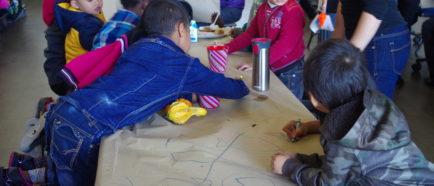 niños en centros de detención