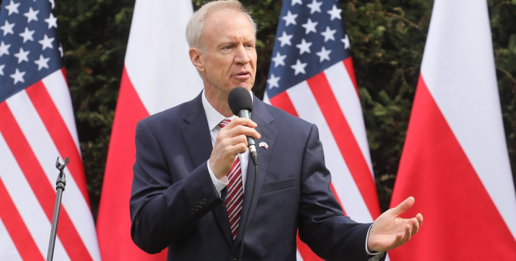 Governor of the state of Illinois, Bruce Rauner