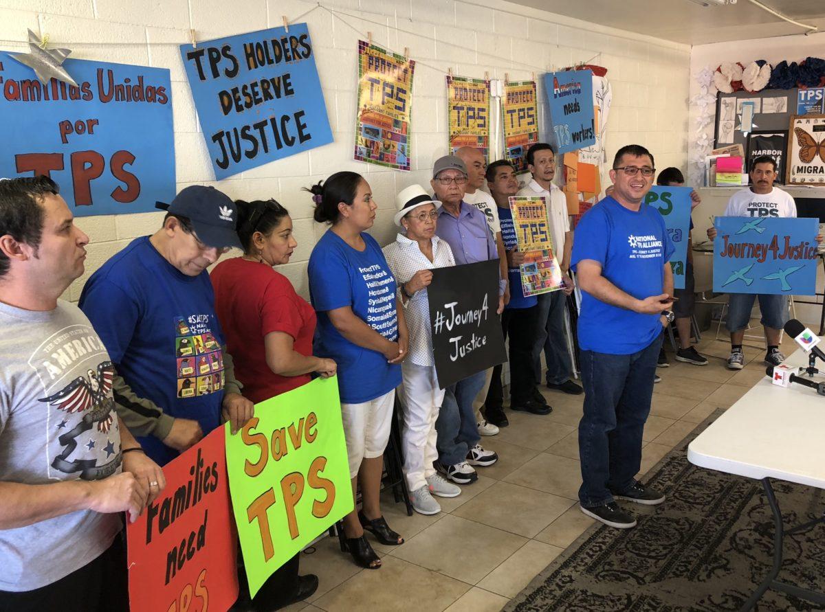 Noviembre 9, cierre de la 'Jornada por la Justicia' de beneficiarios del TPS en DC