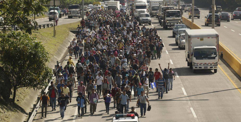 Caravana de centroamericanos con rumbo a EE.UU.