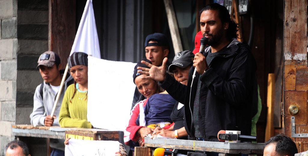 Se agrava crisis humanitaria por caravana en la frontera