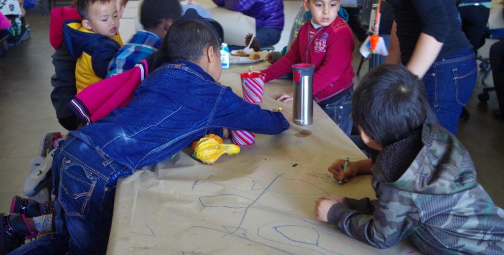 Niños en custodia de ICE