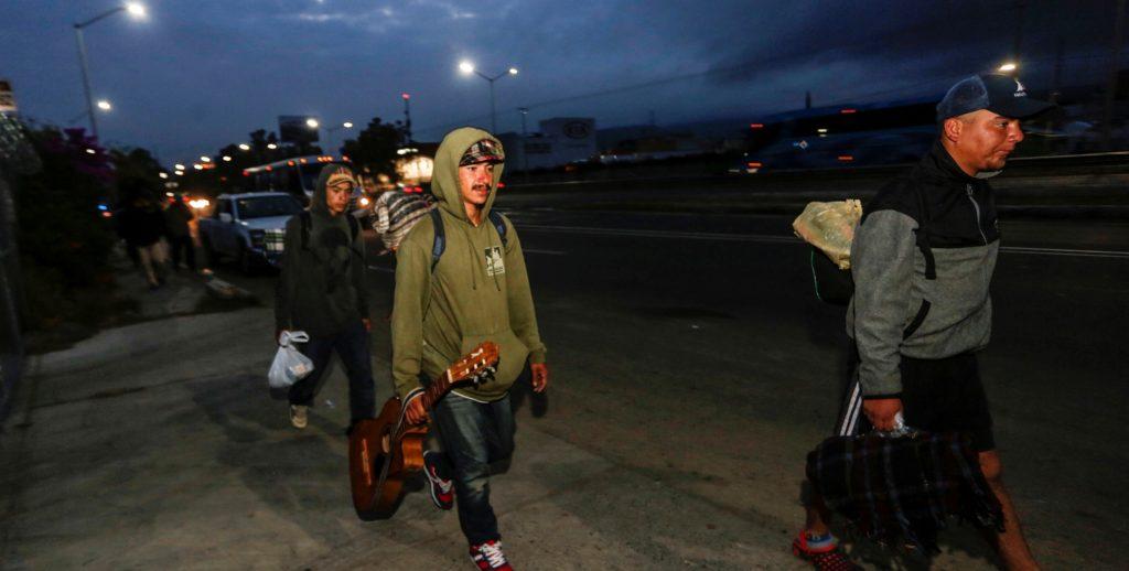 Migrantes enfermos requieren ayuda médica