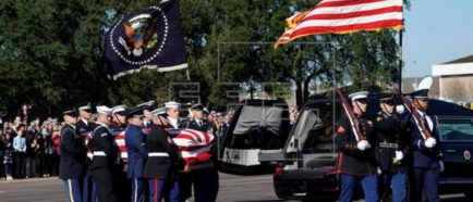 Funerales Bush padre