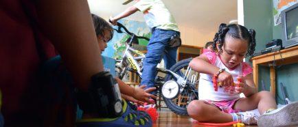 Niños detenidos en EE.UU.