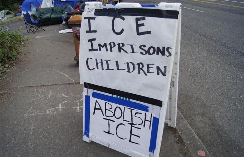 Protesta contra ICE