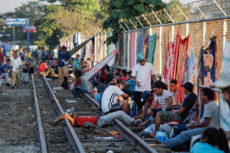 Migrantes hondureños cambian el sueño americano por México