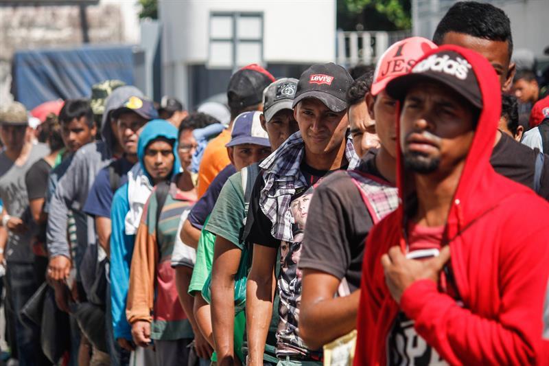 Migrantes centroamericanos en MX