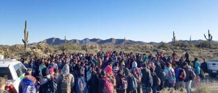 La Patrulla Fronteriza detiene a 325 indocumentados centroamericanos