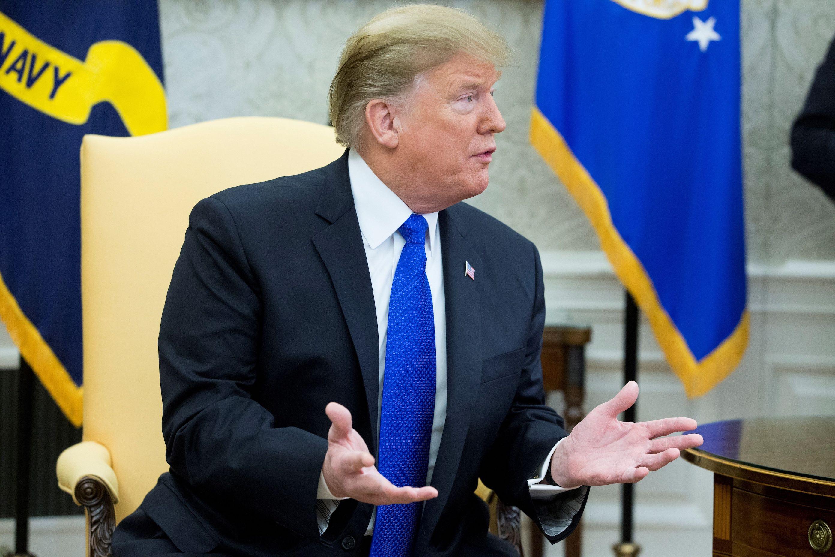 """Trump considera """"interesante"""" la idea de pagar el muro con dinero de El Chapo"""