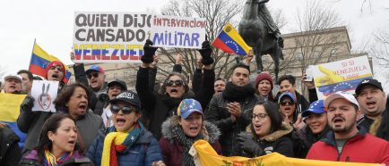 EEUU alienta las protestas en Venezuela y pide que Maduro deje el poder