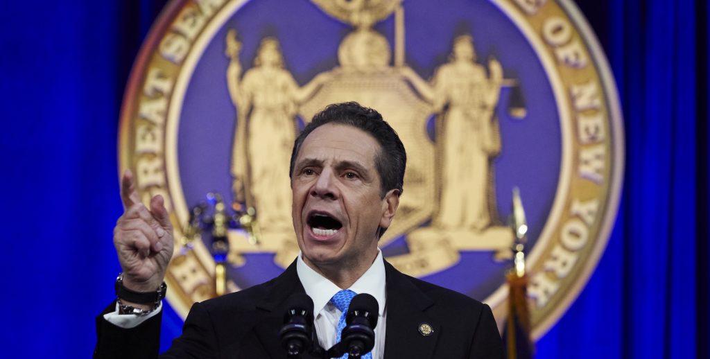 New York Governor Cuomo Inauguration